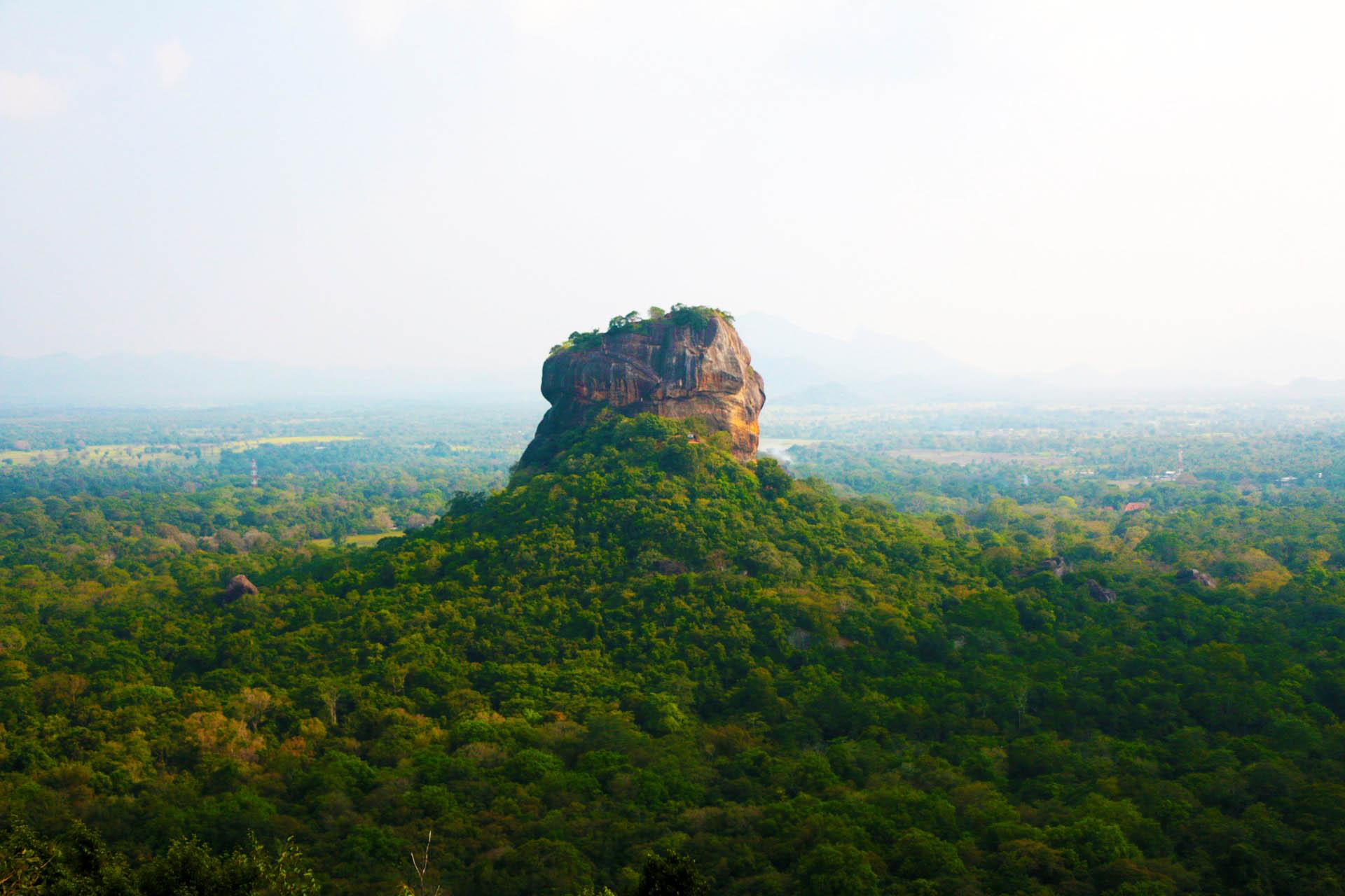 sigiriya is a nearby place to dambulla and also sigiriya is situated in Sri Lanka